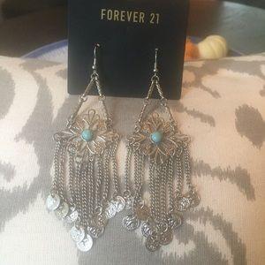 Forever 21 chandelier earrings